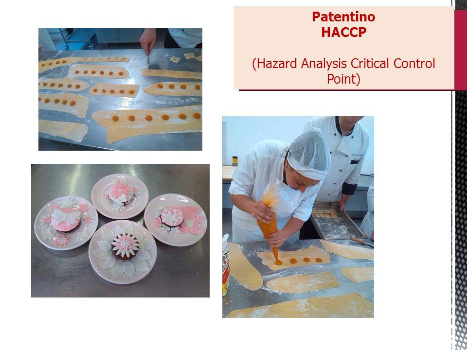 Patentino HACCP (Hazard Analysis Critical Control Point)