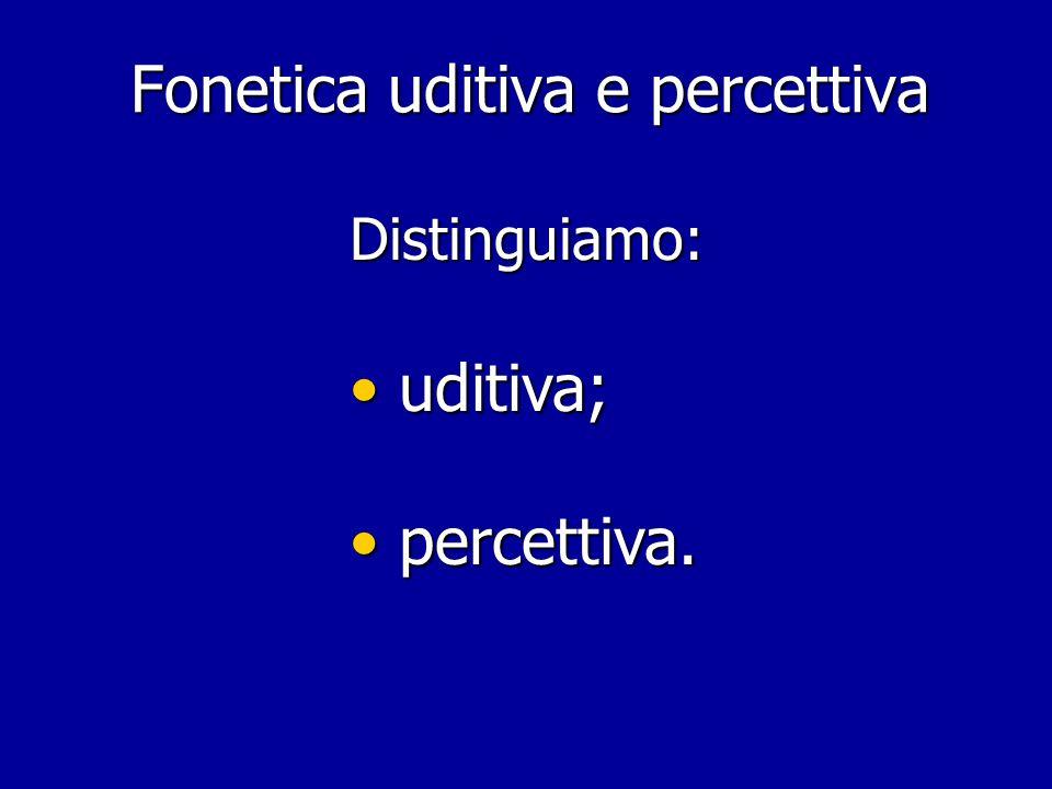 Fonetica e fonologia articolatoria: dall'iperarticolato all'ipoarticolato [  ] [ 