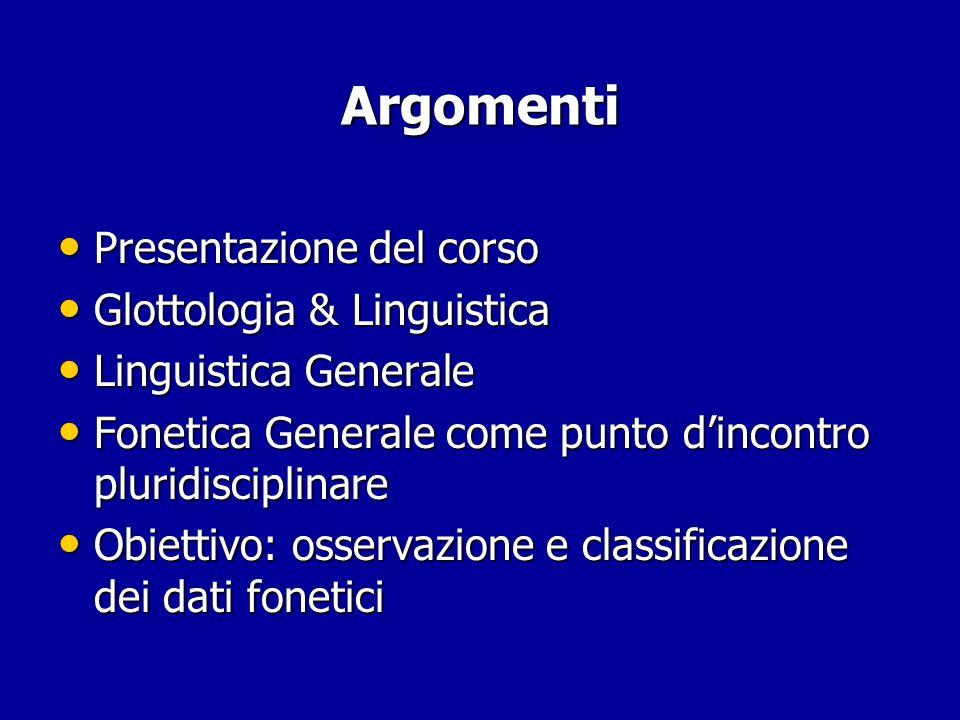 Fonetica e fonologia articolatoria: dall'iperarticolato all'ipoarticolato [  ] [  ] [  ]