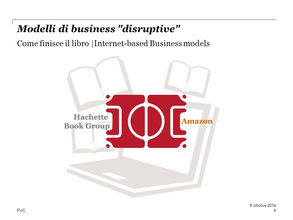PwC Come finisce il libro |Internet-based Business models Modelli di business