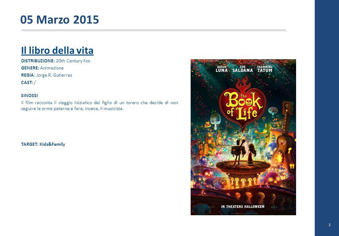 The drop DISTRIBUZIONE: 20th Century Fox GENERE: Drammatico REGIA: Michael R.