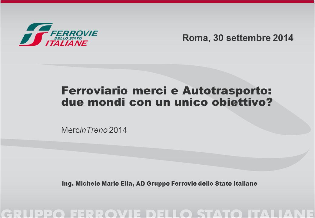 2  Il quadro del trasporto merci in Italia  La sostenibilità del trasporto merci  Le strategie dell'Europa  Il quadro regolatorio in Italia  Quali strategie di sviluppo.