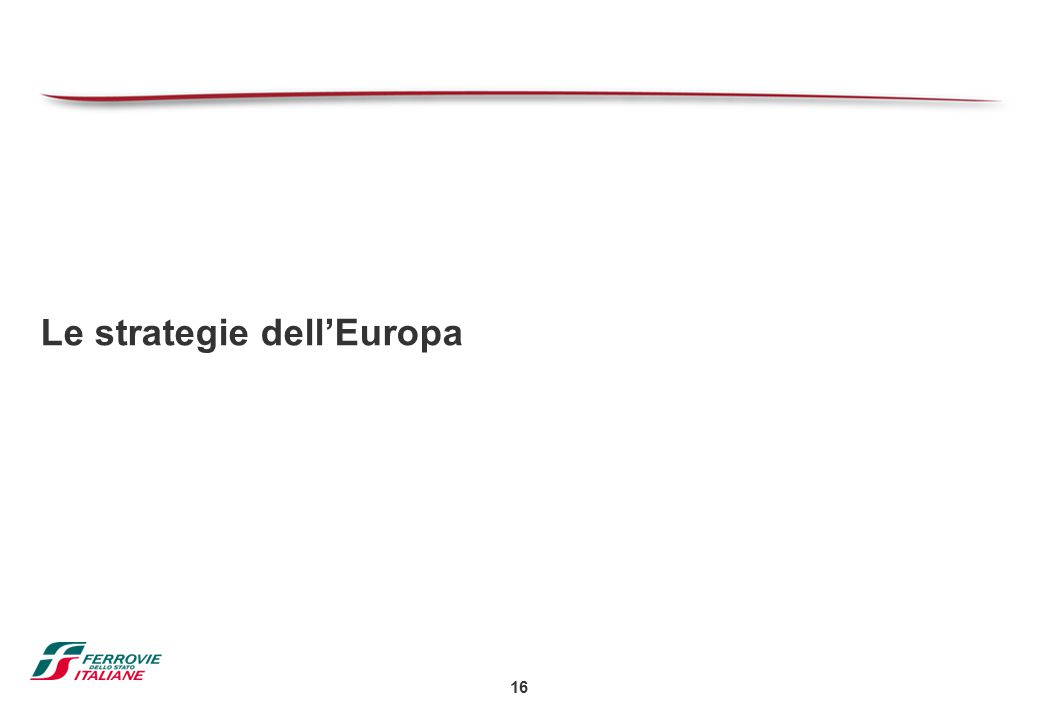 16 Le strategie dell'Europa