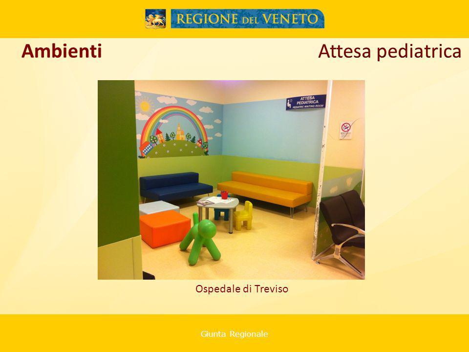Giunta Regionale Ospedale di Treviso Ambienti