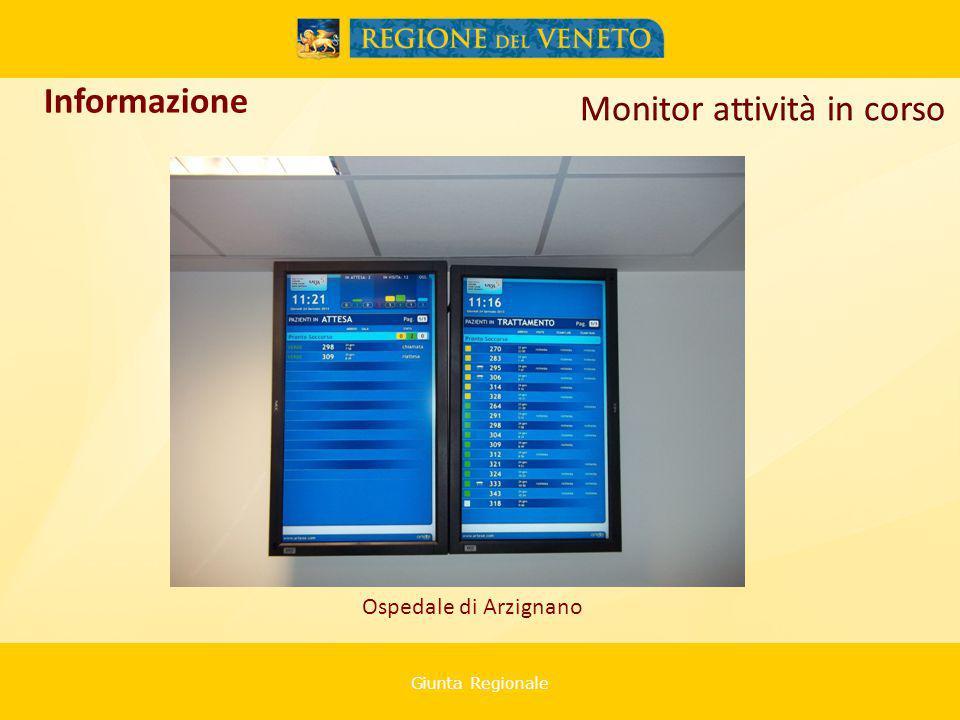 Giunta Regionale Ospedale di Arzignano Informazione