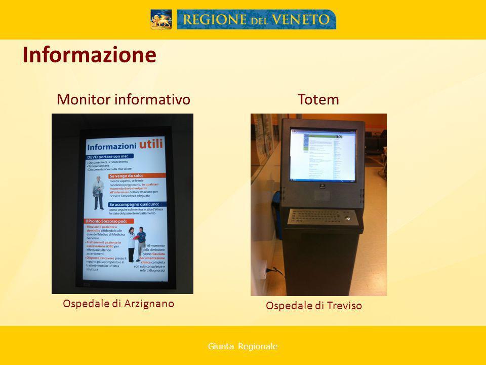 Giunta Regionale Ospedale di Arzignano Informazione Ospedale di Treviso