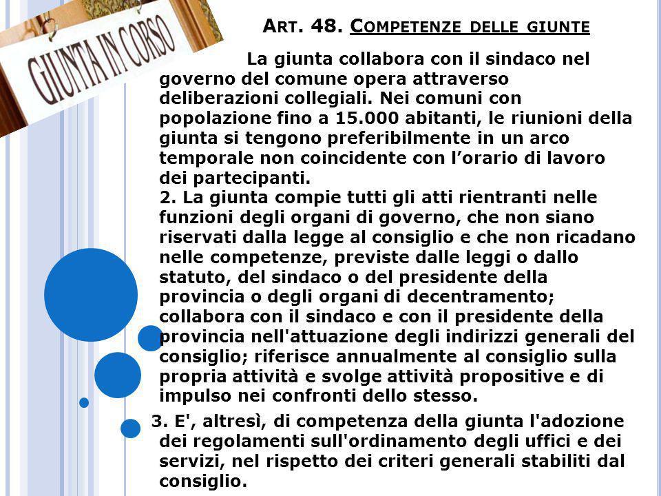 Art.49. Pareri dei responsabili dei servizi 1.