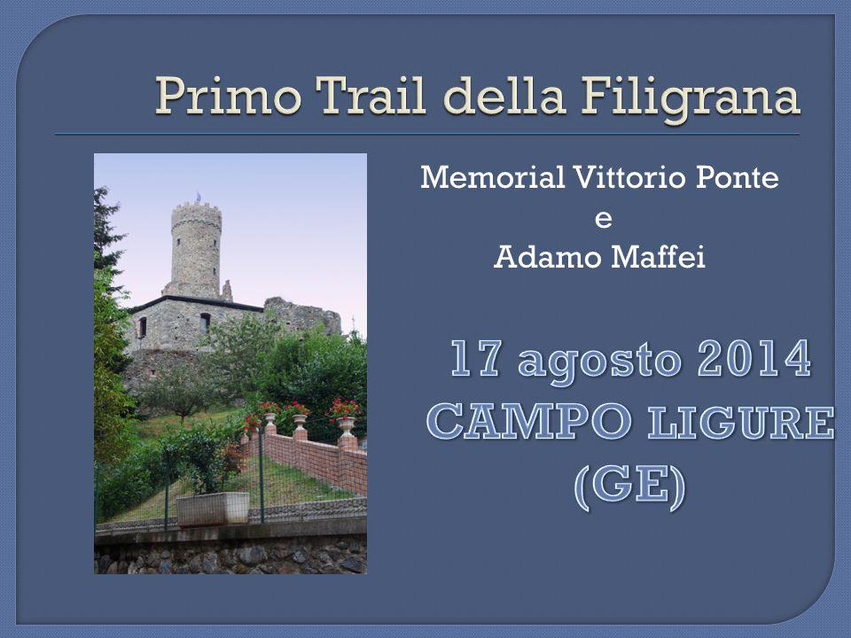Memorial Vittorio Ponte e Adamo Maffei