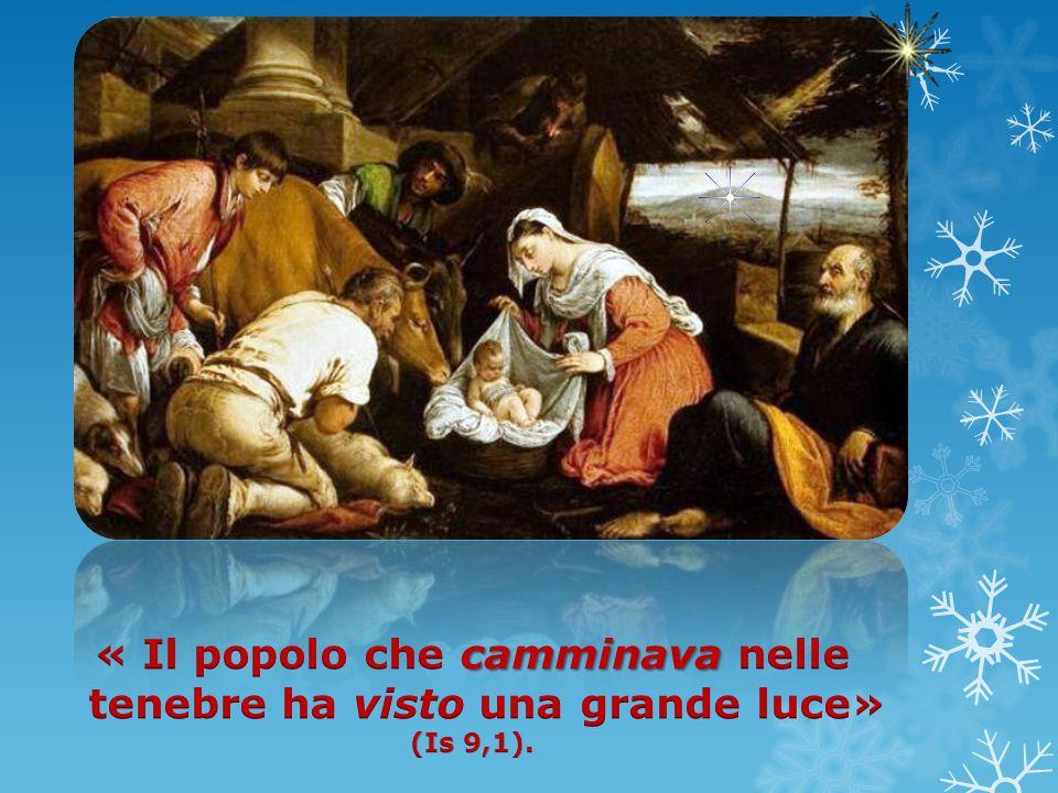 profezia Questa profezia non finisce di commuoverci, specialmente quando la ascoltiamo nella Liturgia della Notte di Natale.