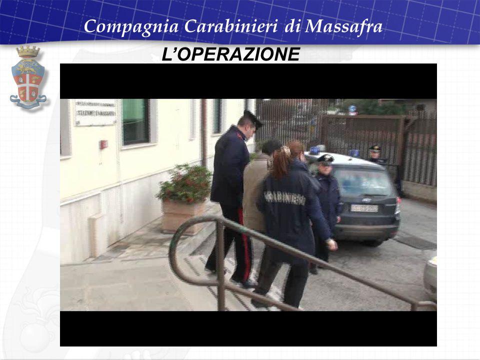 Compagnia Carabinieri di Massafra L'OPERAZIONE