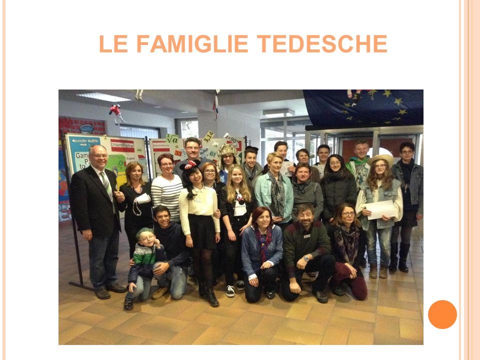 LE FAMIGLIE TEDESCHE