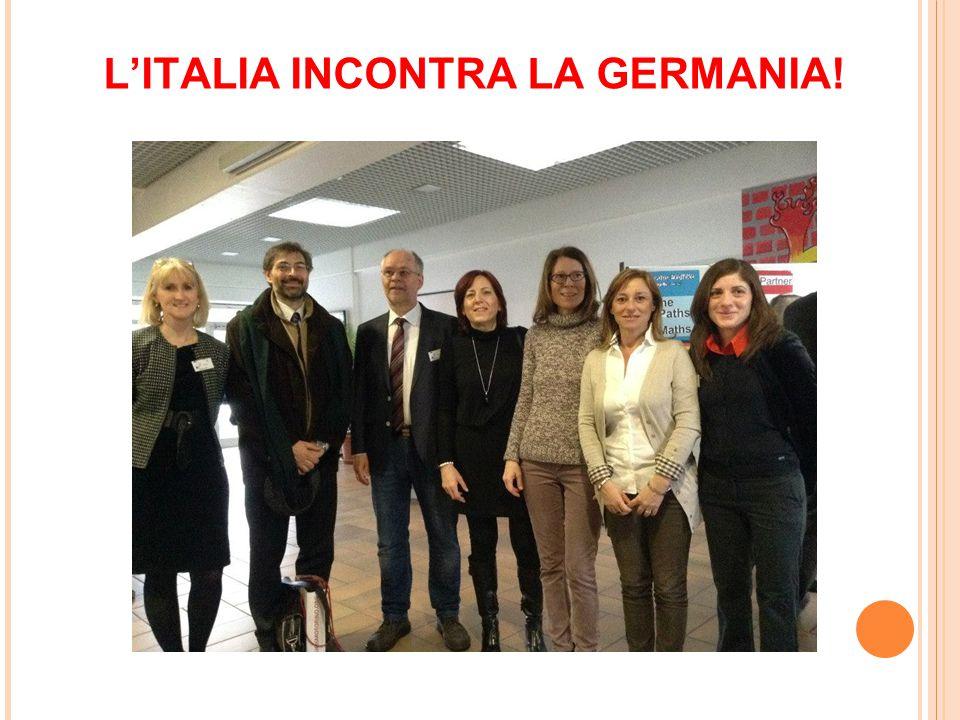 L'ITALIA INCONTRA LA GERMANIA!