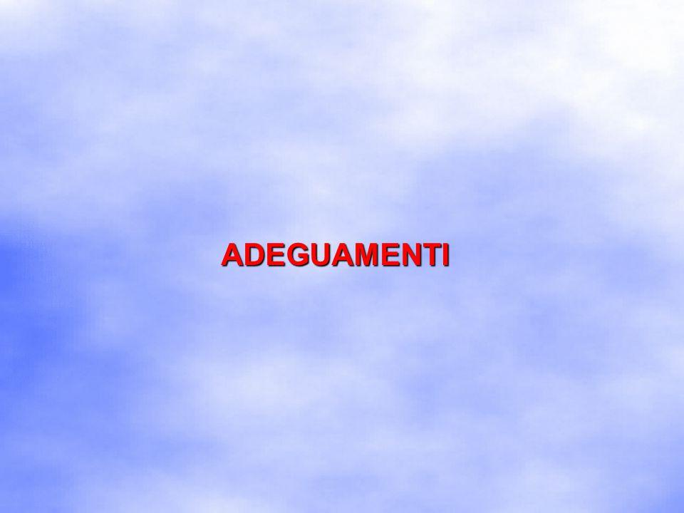 ADEGUAMENTI