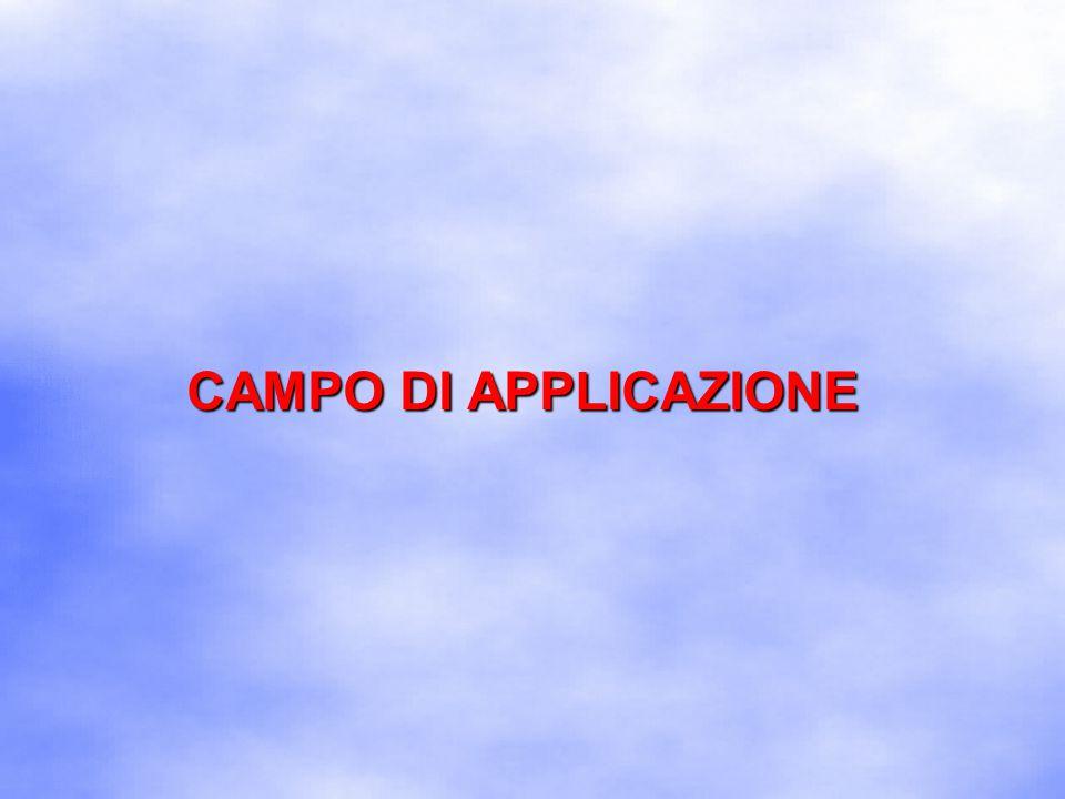 d.m.16/1/2004, n. 44 campo di applicazione - art.