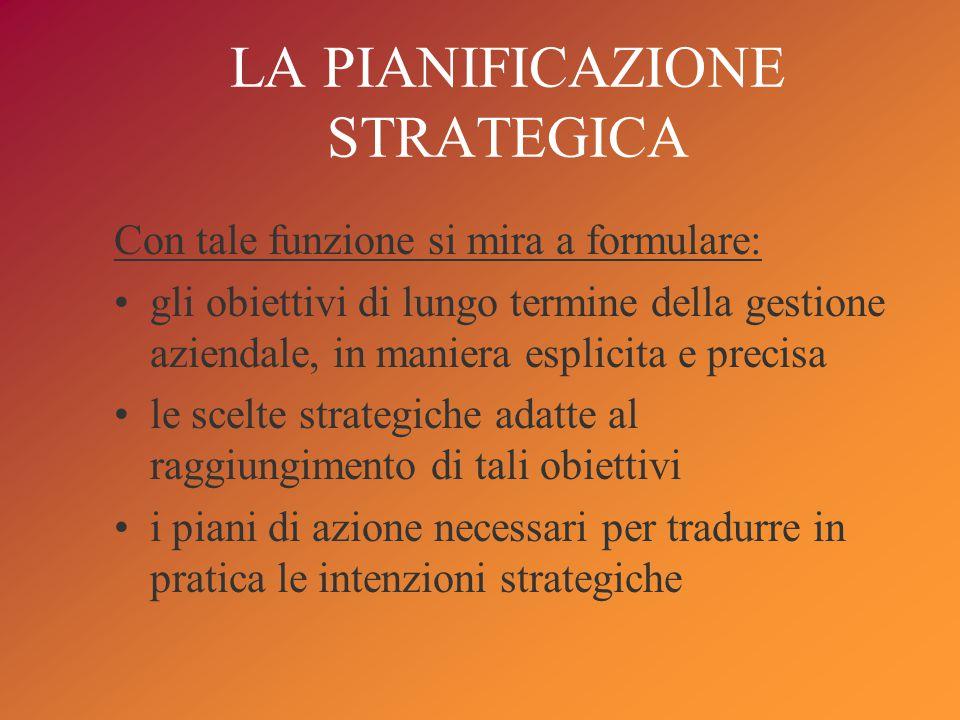 La strategia definisce l'identità, effettiva o ricercata, dell'azienda evidenziando che cosa essa fa o vuole fare; perché lo fa e lo vuole fare; come lo fa o lo vuole fare.