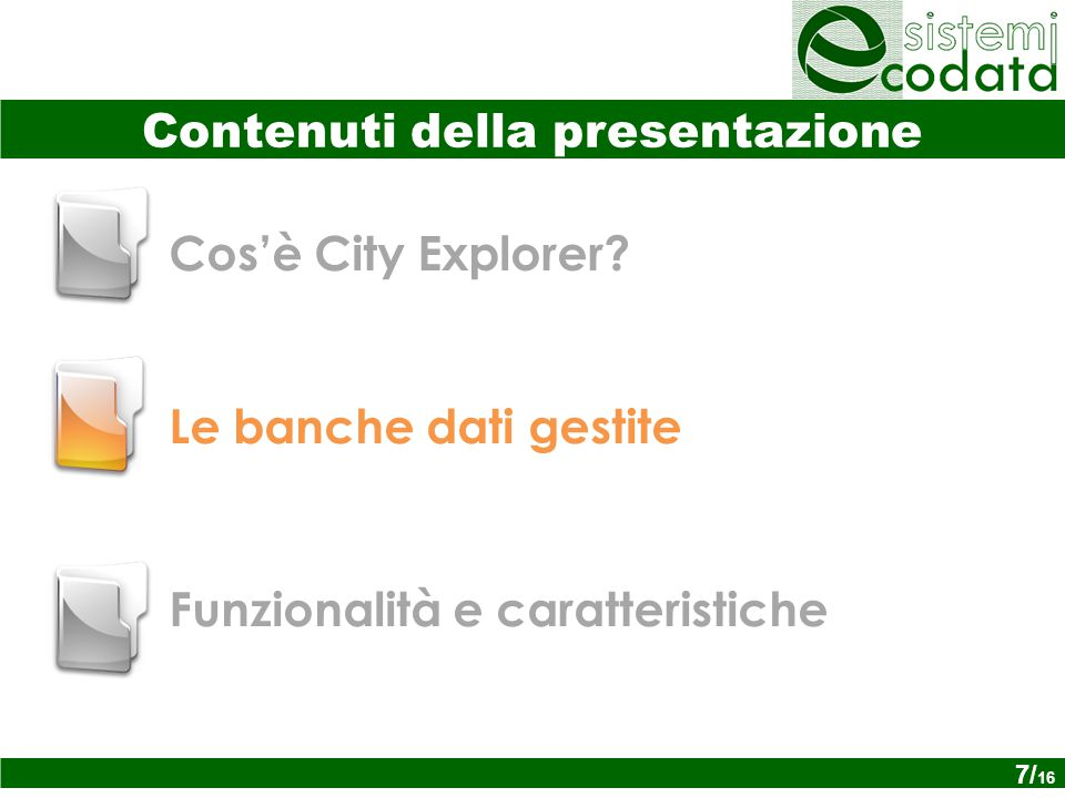 Cos'è City Explorer.