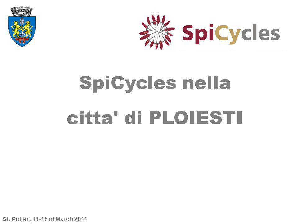 St. Polten, 11-16 of March 2011 SpiCycles nella citta' di PLOIESTI