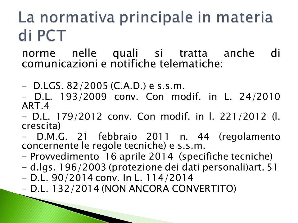 L'art.16 D.L. 179/2012 comma 3 Ha modificato l'ART.