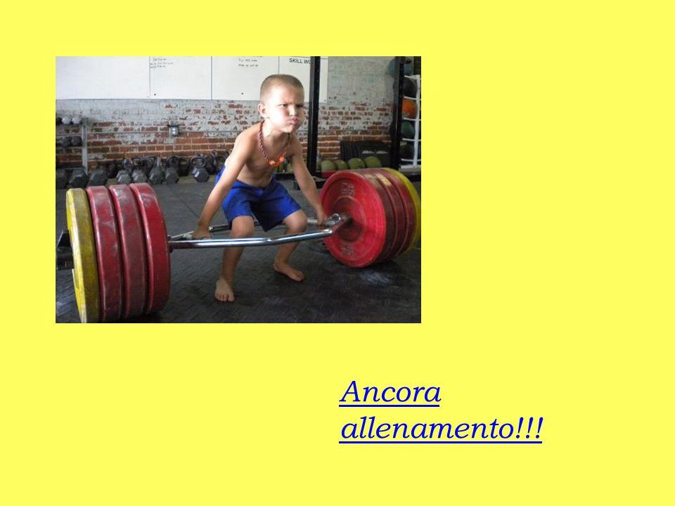 Ancora allenamento!!!