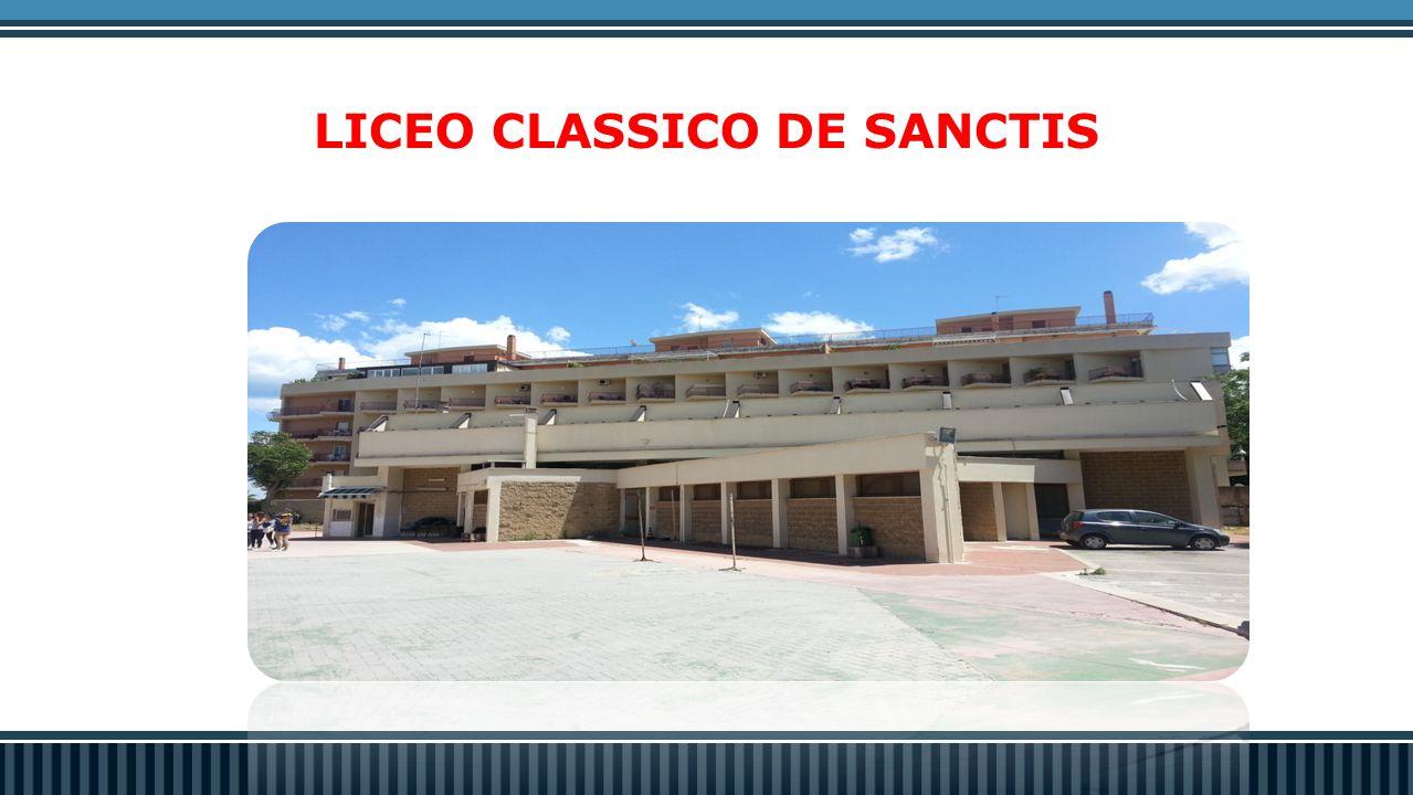 LICEO CLASSICO DE SANCTIS