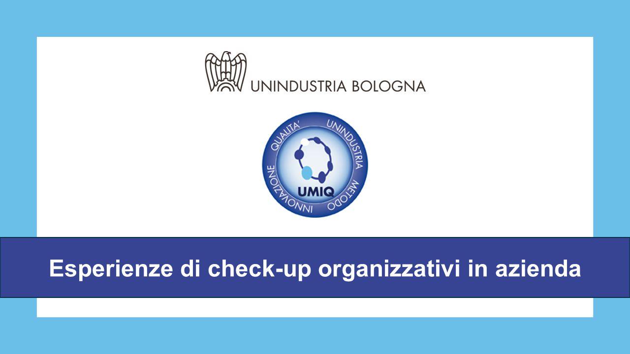 Esperienze di check-up organizzativi in azienda