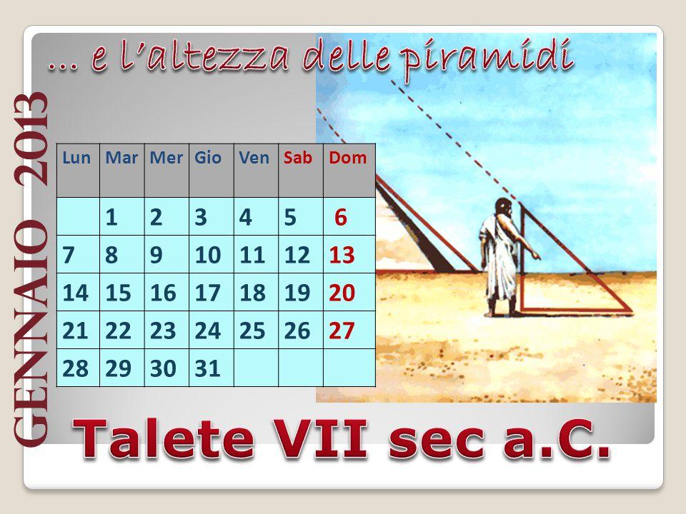 Istituto Comprensivo Martin Pescatore superiore di I grado La classe IIA Presenta: I grandi matematici Calendario
