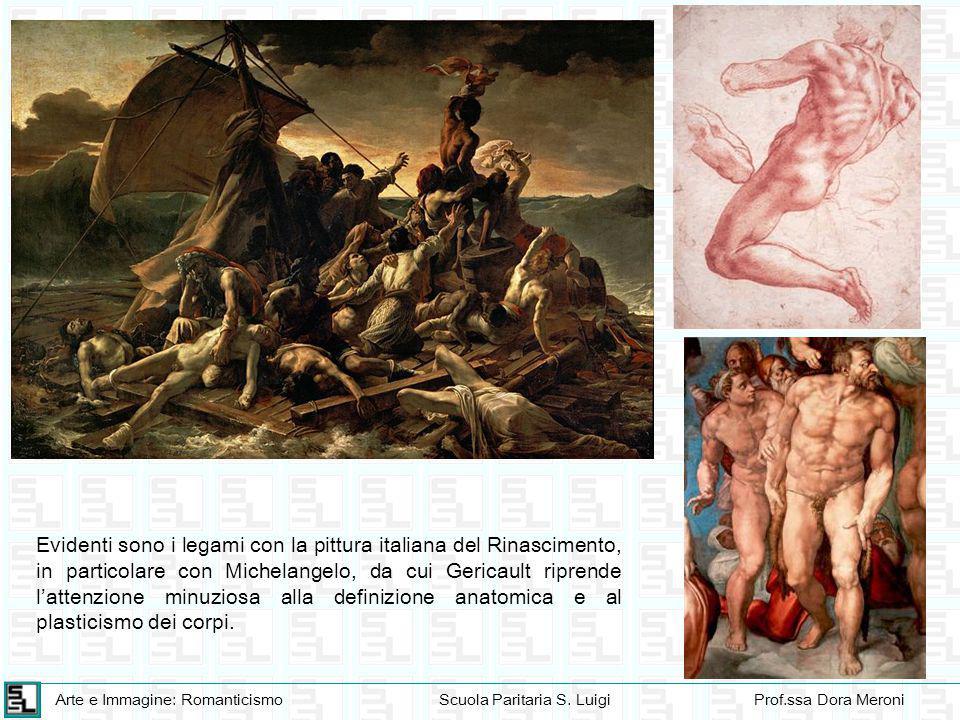 Arte e Immagine: RomanticismoScuola Paritaria S. LuigiProf.ssa Dora Meroni Evidenti sono i legami con la pittura italiana del Rinascimento, in partico