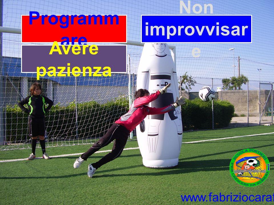 Programm are Non improvvisar e Avere pazienza www.fabriziocarafa.it