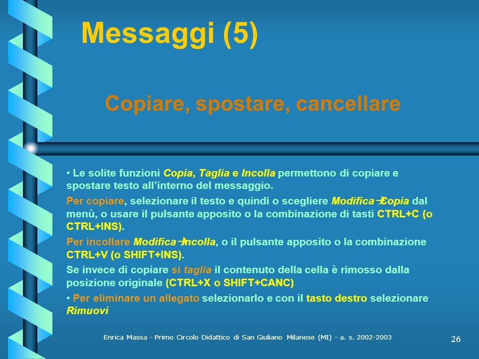 Enrica Massa - Primo Circolo Didattico di San Giuliano Milanese (MI) - a.