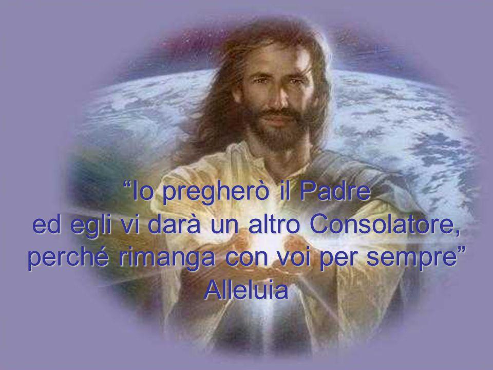 Dal Vangelo secondo Giovanni Se mi amate, osserverete i miei comandamenti. Io pregherò il Padre ed egli vi darà un altro Consolatore perché rimanga co