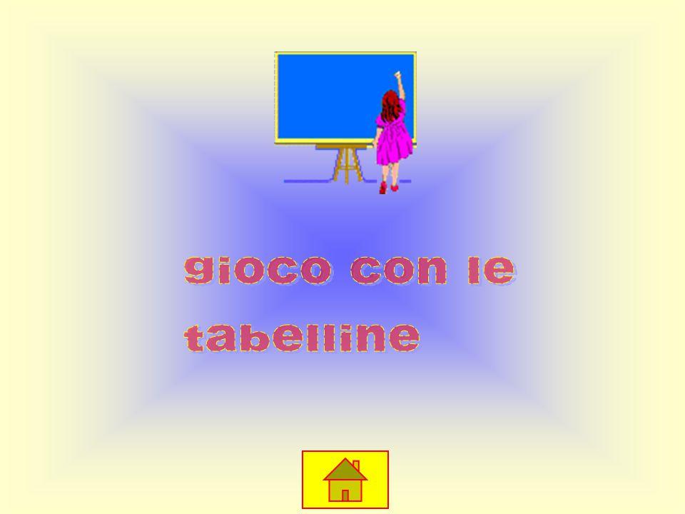 9X0=0 9X1=9 9X2=18 9X3=27 9X4=36 9X5=45 9X6=54 9X7=63 9X8=72 9X9=81 9x10=90 Tabellina del 9 TESTTEST MENUMENU