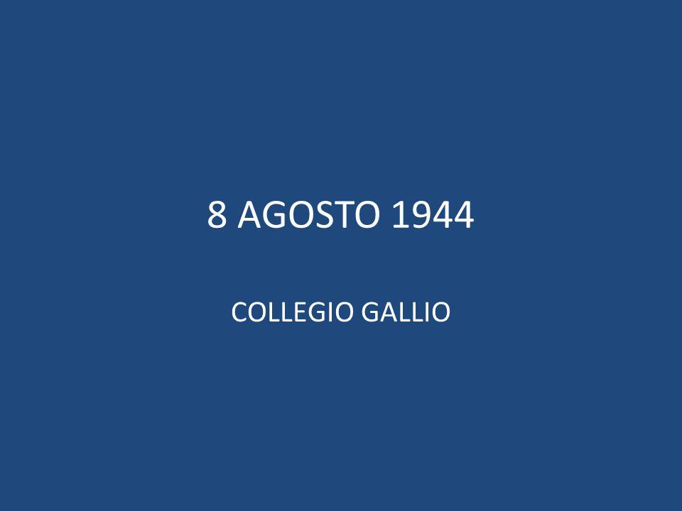 Virginio Binelli, con Giulio Cesare Uccellini fondatore delle Aquile randagie, dall'estate '44 guida le attività della squadriglia Leoni presso il Collegio Gallio