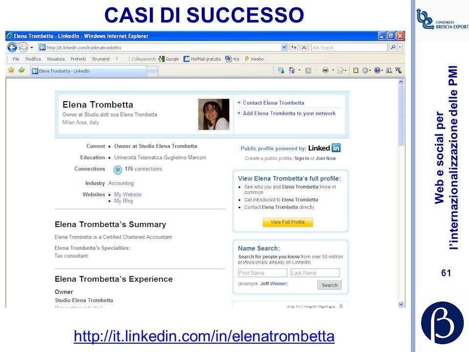 Web e social per l'internazionalizzazione delle PMI 60 CASI DI SUCCESSO http://simonelovati.com/
