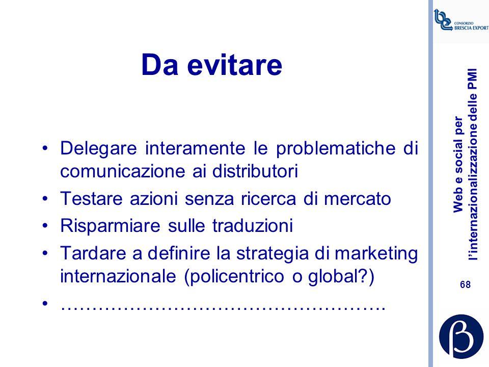 """Web e social per l'internazionalizzazione delle PMI 67 Branding e naming corporate, brand e product all'estero qualche """"incidente"""""""