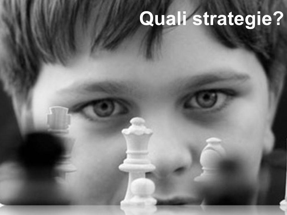 RilevatoAzione suggerita in azienda Banalizzazione delle strategie di marketing internazionale intorno a un numero limitato di strumenti (come la part