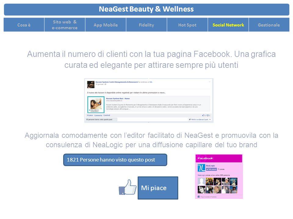 Aumenta il numero di clienti con la tua pagina Facebook.