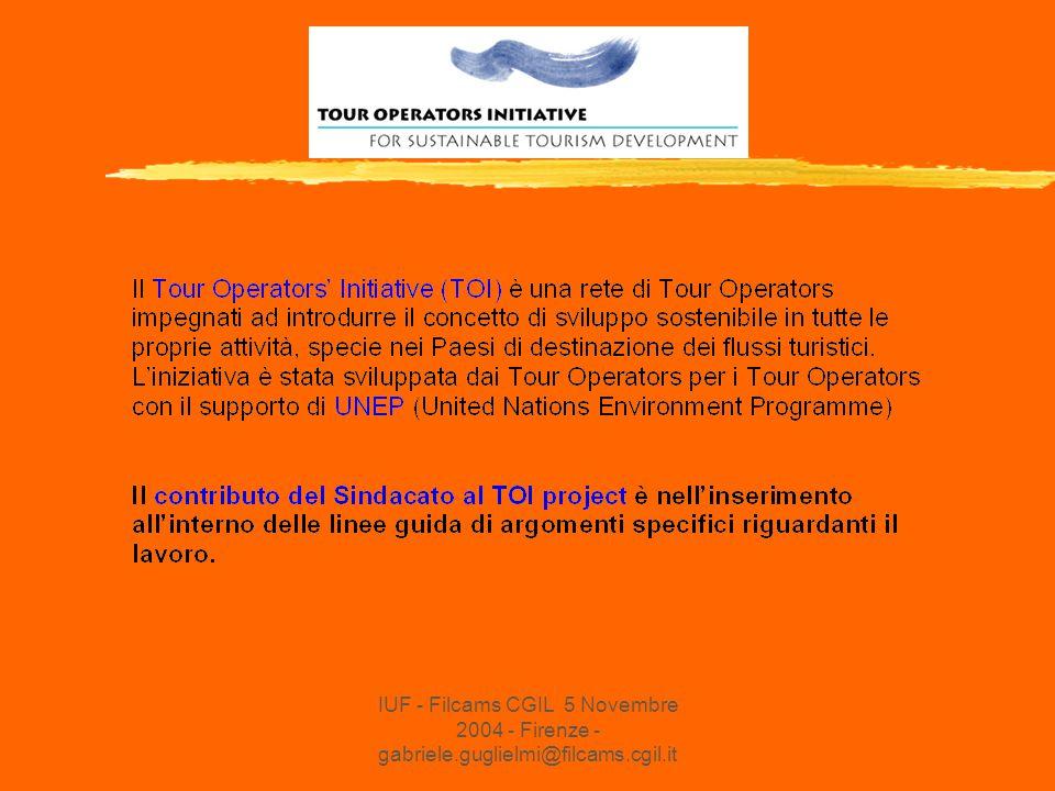 IUF - Filcams CGIL 5 Novembre 2004 - Firenze - gabriele.guglielmi@filcams.cgil.it