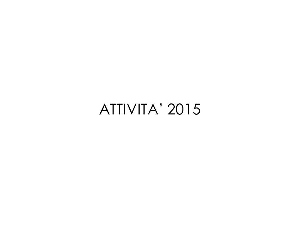 ATTIVITA' 2015