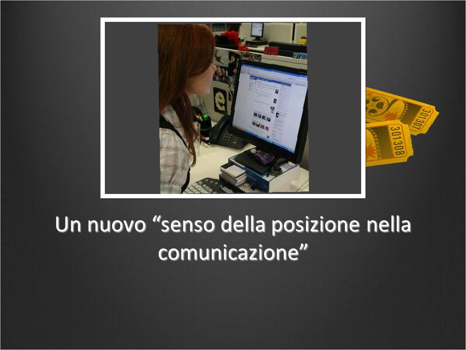 """Un nuovo """"senso della posizione nella comunicazione"""""""