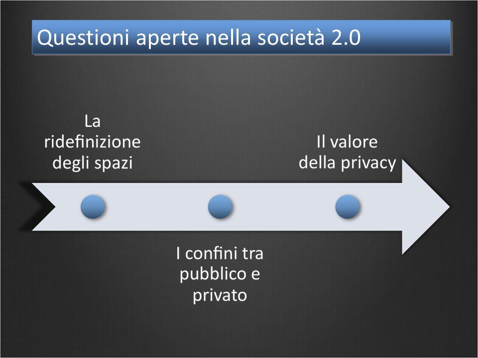 Questioni aperte nella società 2.0