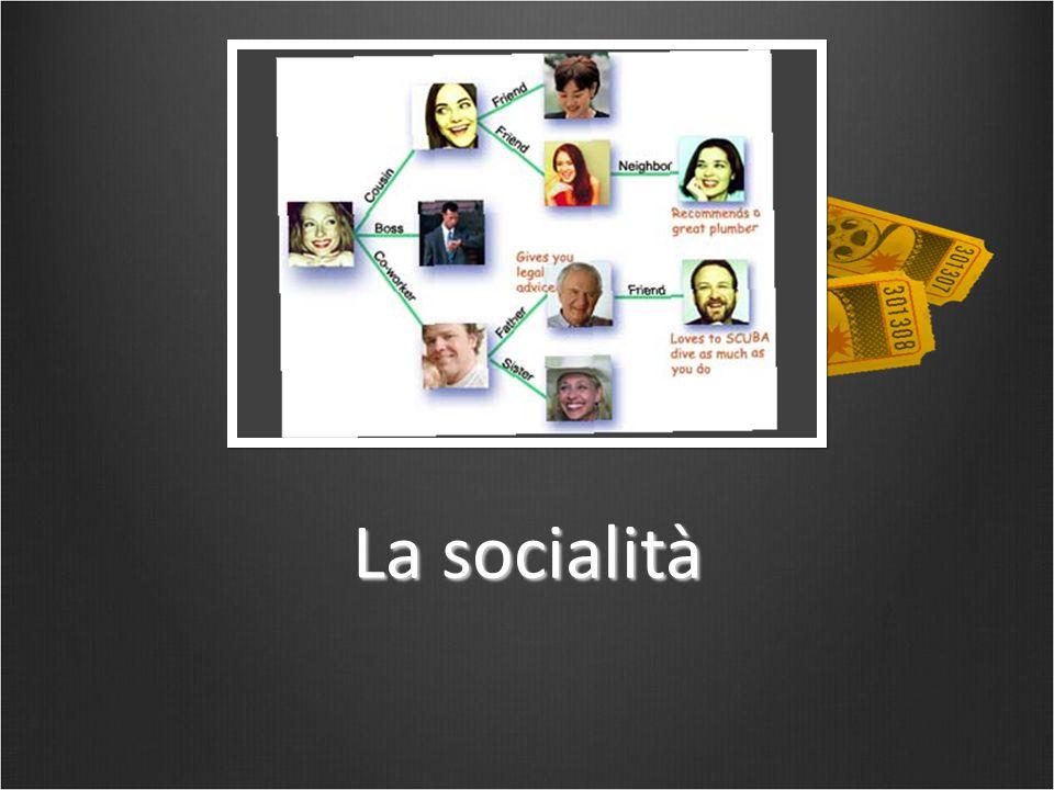 La socialità
