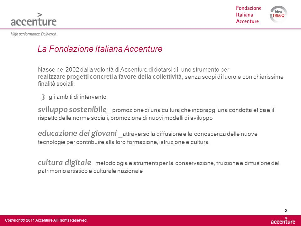 Copyright © 2011 Accenture All Rights Reserved.