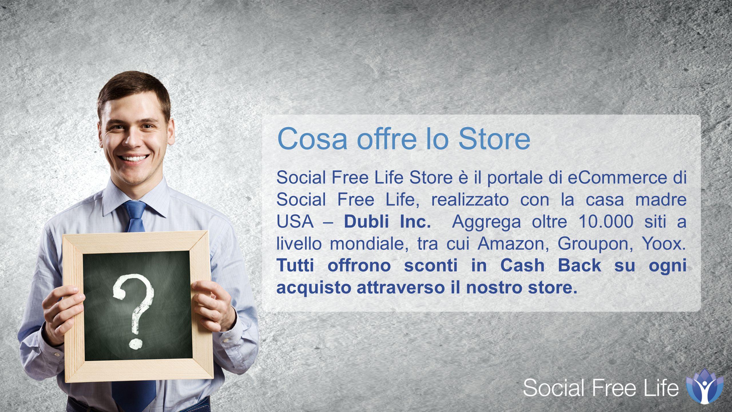 Social Free Life Store è il portale di eCommerce di Social Free Life, realizzato con la casa madre USA – Dubli Inc.