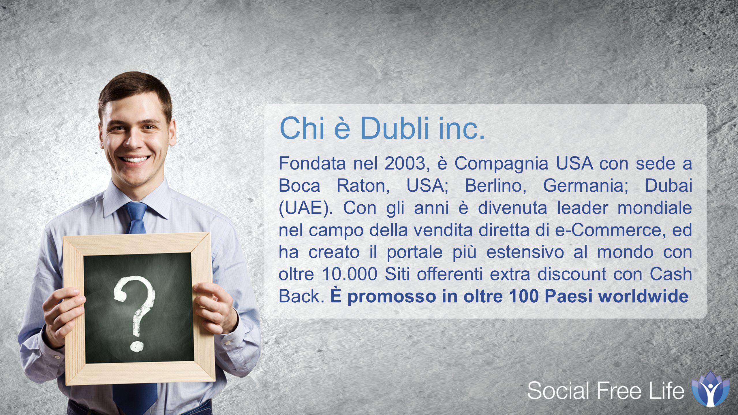 Fondata nel 2003, è Compagnia USA con sede a Boca Raton, USA; Berlino, Germania; Dubai (UAE).