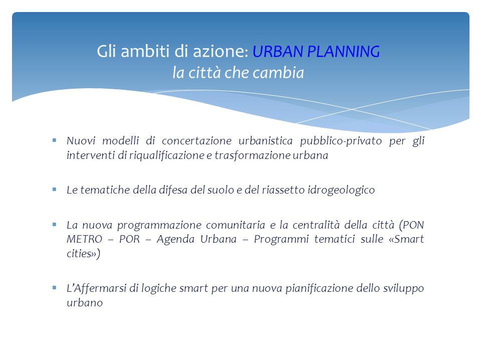  Il nuovo PUC nel disegnare e programmare la nuova idea di città dovrà tenere conto delle esigenze emergenti e dei cambiamenti in corso.