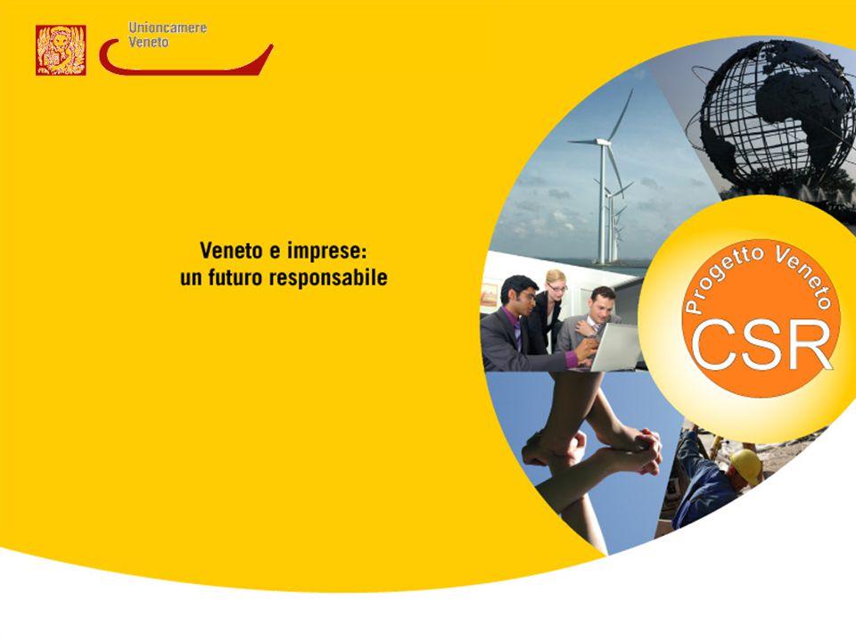 Requisiti minimi per un percorso di Responsabilità Sociale d'Impresa Nell'ambito del Progetto Veneto CSR per incoraggiare la diffusione della RSI in Veneto sono stati individuati dei parametri minimi per la definizione di un'impresa socialmente responsabile.