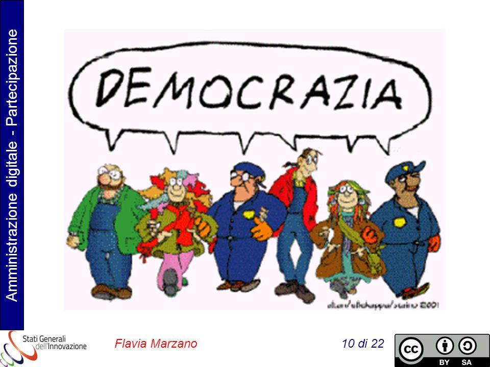 Amministrazione digitale - Partecipazione Flavia Marzano 10 di 22