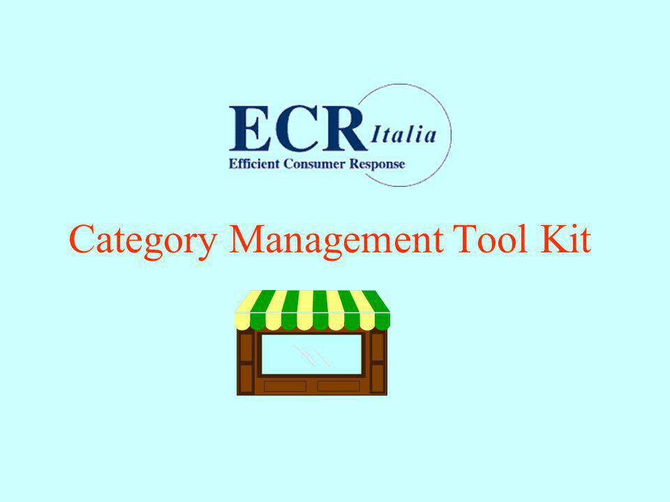 Category Management Tool Kit