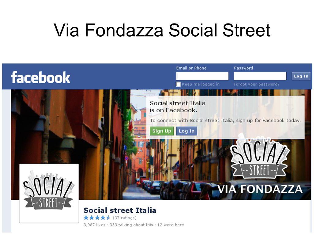 Via Fondazza Social Street