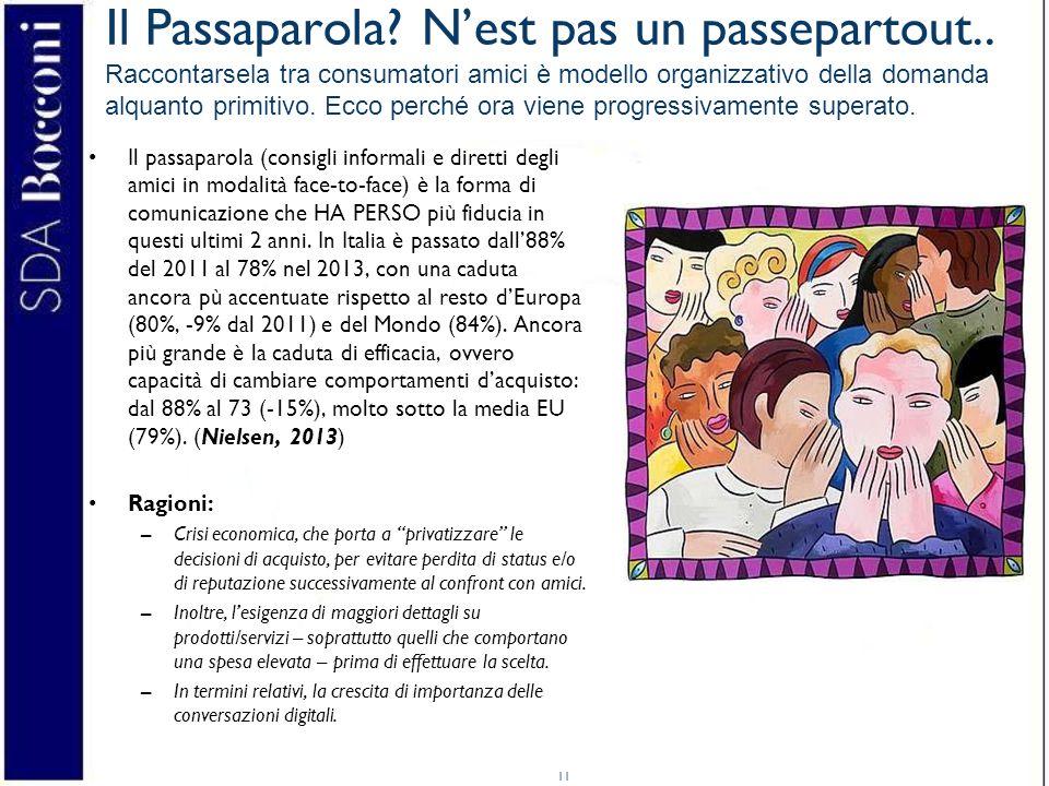 11 Il Passaparola.N'est pas un passepartout..